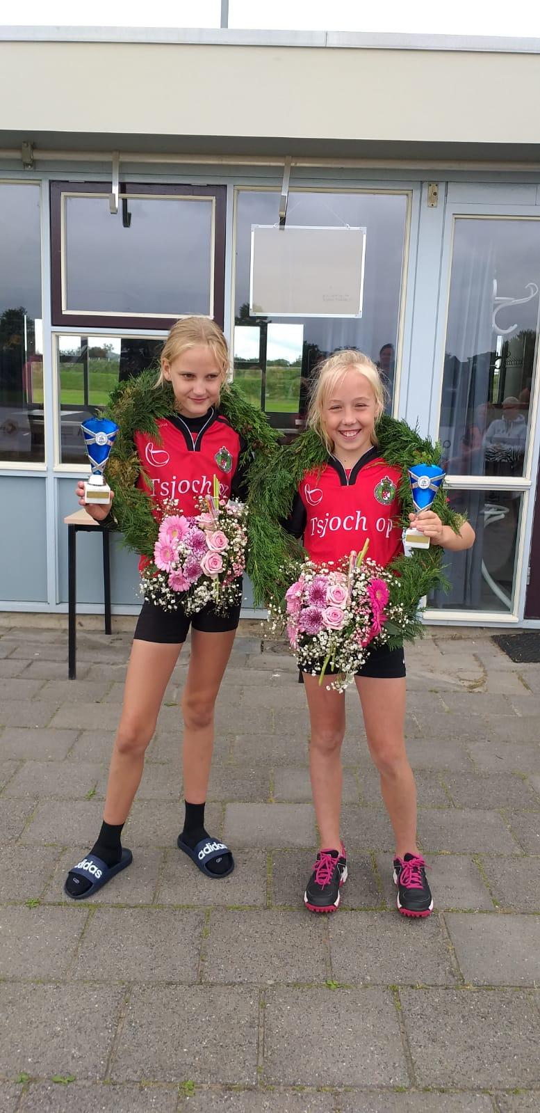 Welpenmeisjes winnaars